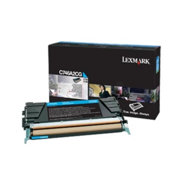 Lexmark C746A3CG Laser cartridge 7000Seiten Cyan Lasertoner / Patrone