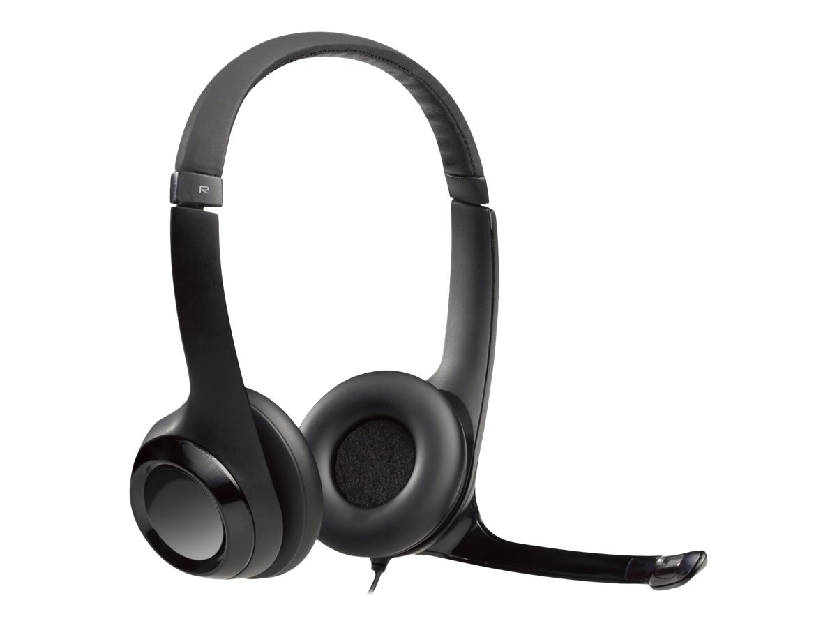 Logitech USB Headset H390 - Headset - ohrumschließend