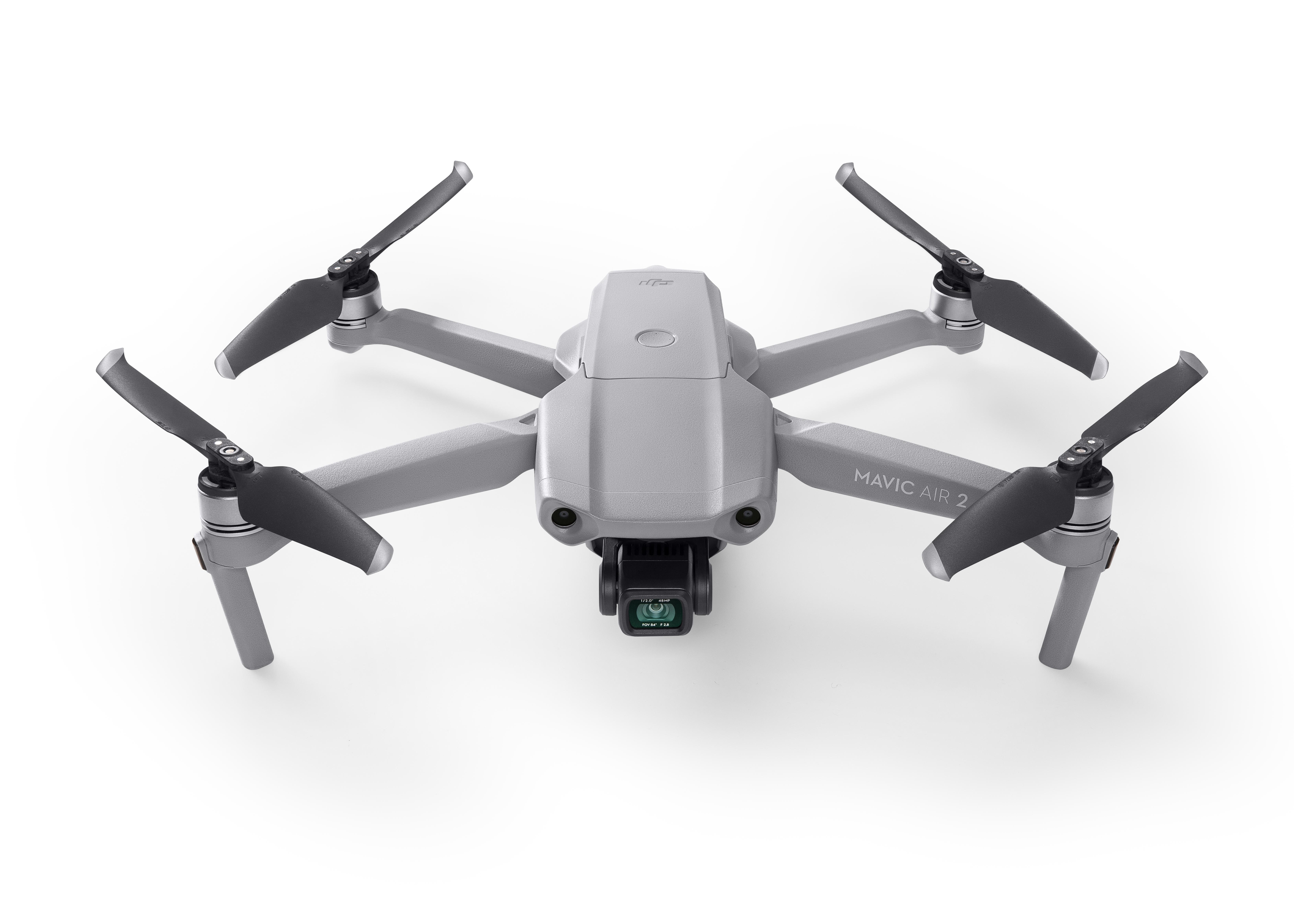 DJI Mavic Air 2 - 4 Rotoren - 48 MP - 3840 x 2160 Pixel - 19 m/s - 3500 mAh - Grau