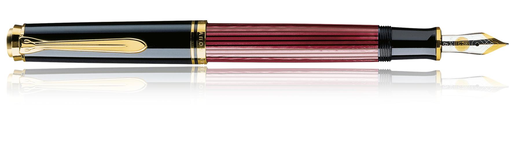 Pelikan Souverän M400 - Schwarz - Gold - Rot - Blau - Gold - 1 Stück(e)