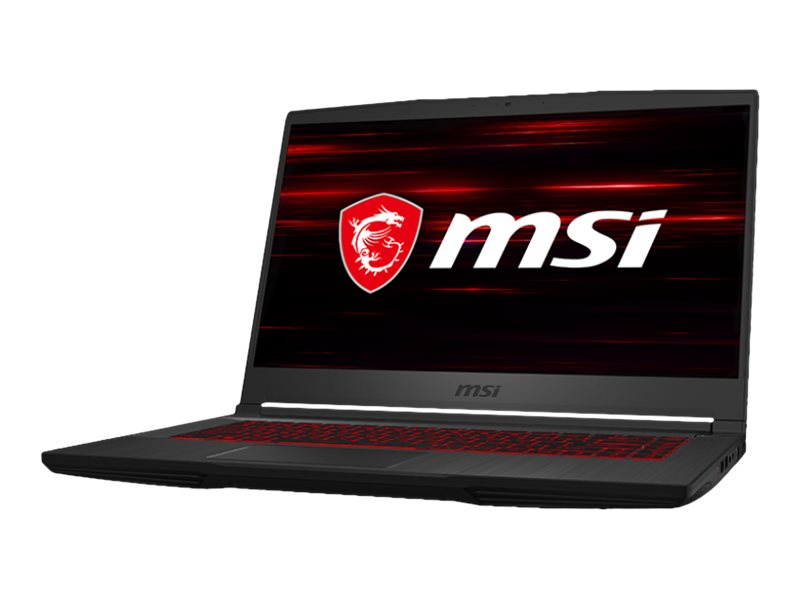 "MSI GF65 9SEXR 481 Thin - Core i7 9750H / 2.6 GHz - FreeDOS - 8 GB RAM - 512 GB SSD NVMe - 39.6 cm (15.6"")"