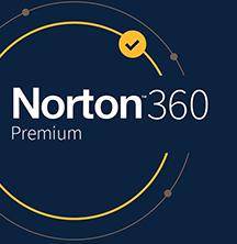 Symantec Norton 360 Premium - Box-Pack (1 Jahr) - 10 Geräte, 75 GB Cloud-Speicherplatz