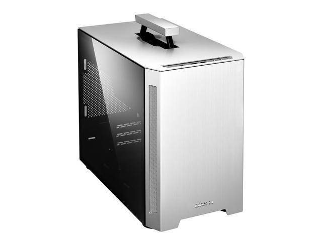 Lian Li TU150WA MiniTower PC Aluminium,SPCC,Tempered glass Silver DTX,ITX Gaming