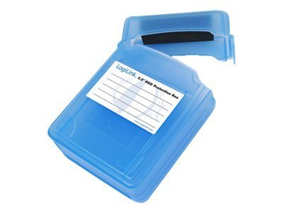 "LogiLink 2.5"" HDD Protection Box for 2 HDDs - Festplattenlaufwerk-Schutzgehäuse"