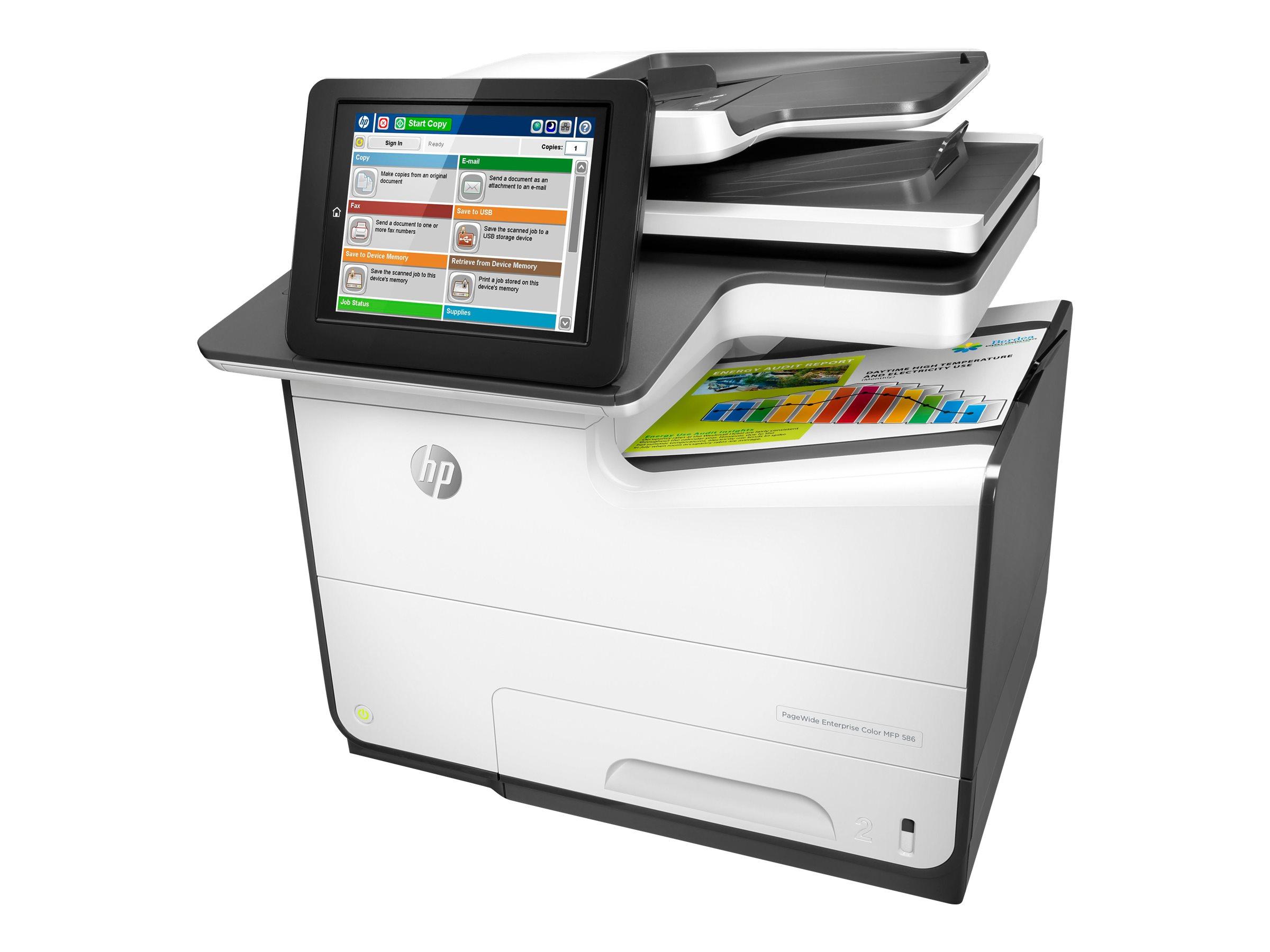 HP PageWide Enterprise Color 586f, Tinte, MFP, A4