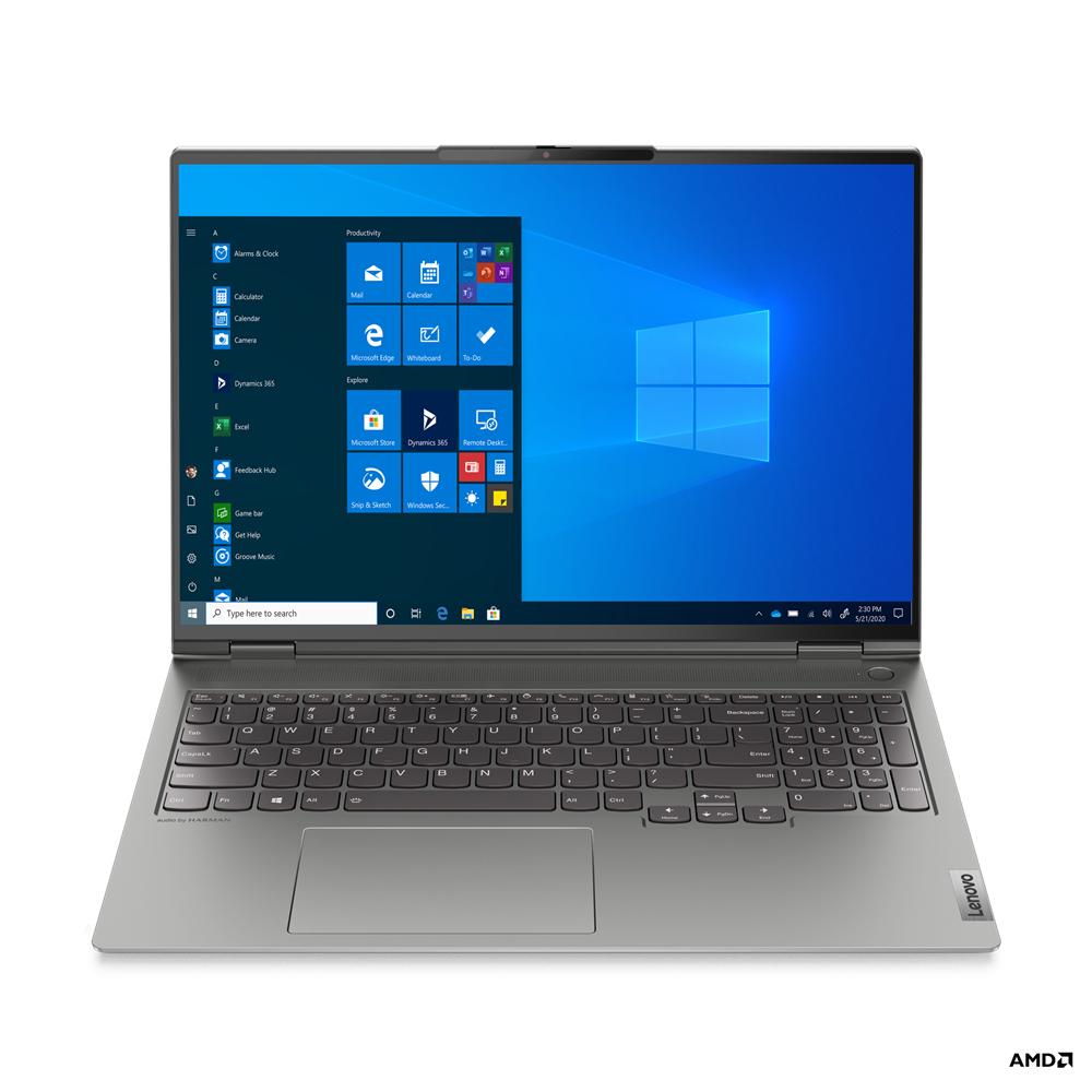 """Lenovo ThinkBook 16p G2 ACH 20YM - Ryzen 9 5900HX / 3.3 GHz - Win 10 Pro 64-Bit - 32 GB RAM - 1 TB SSD NVMe - 40.6 cm (16"""")"""