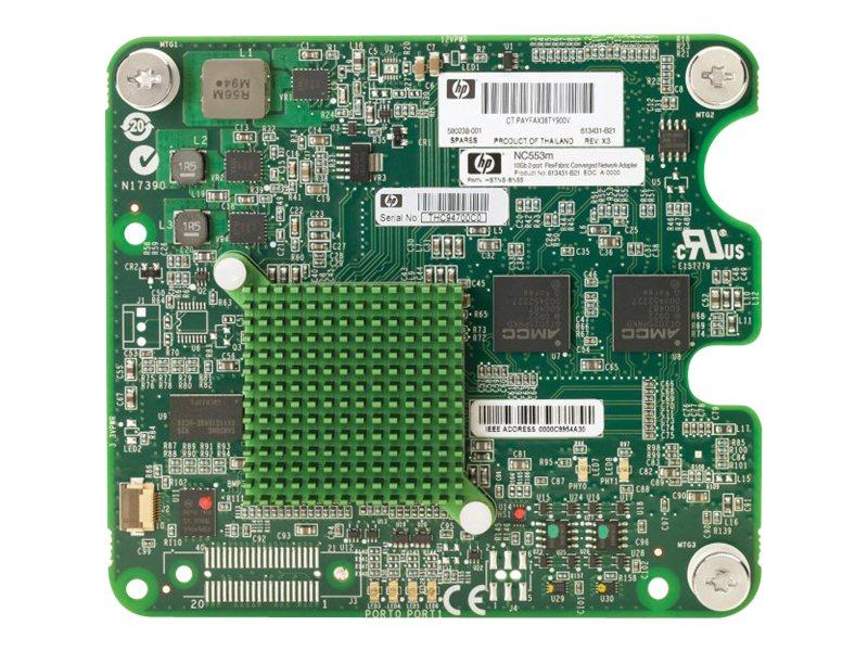 HP BLc NC553m DP FlexFabric Adptr Opt (613431-B21) - REFURB