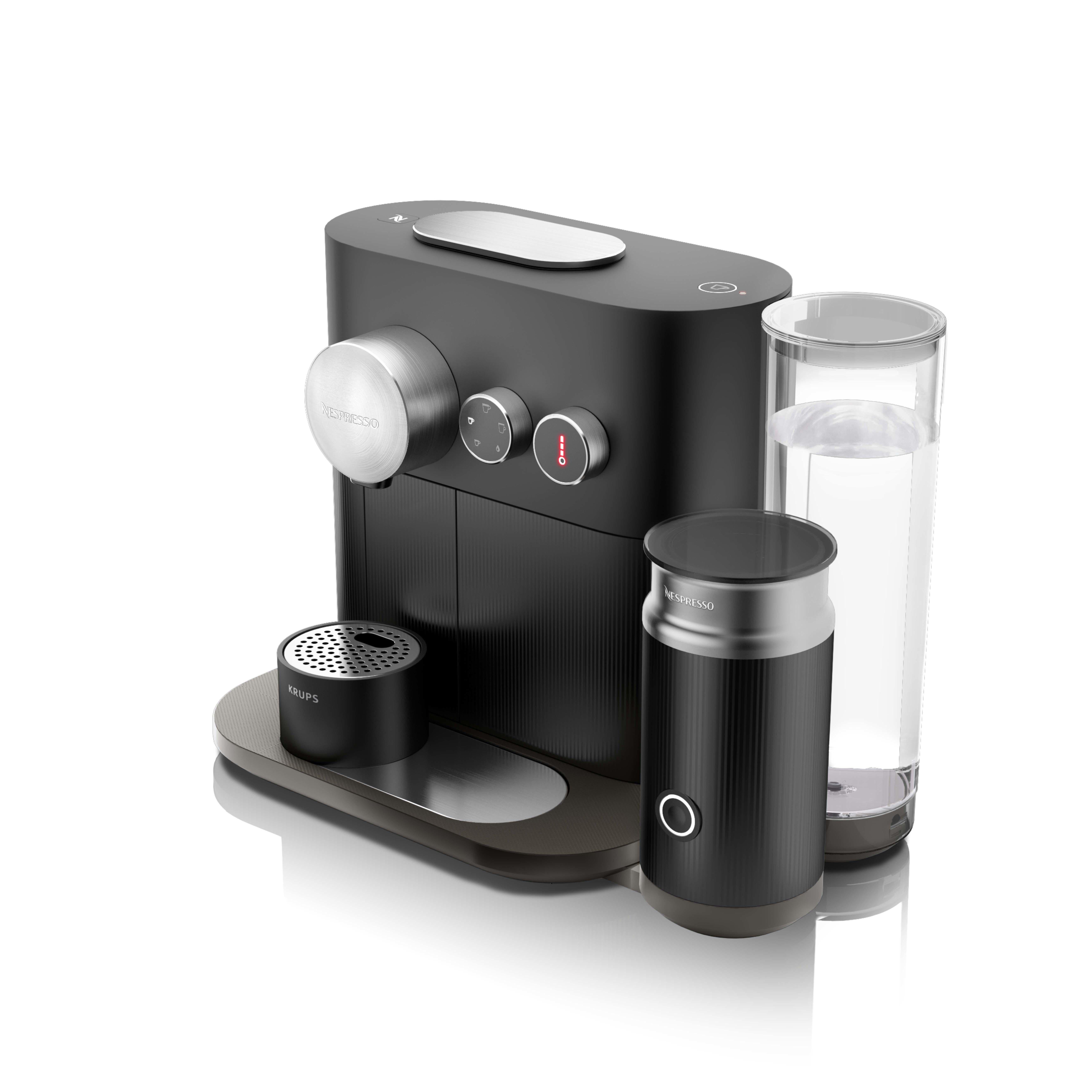 krups xn6018 pad kaffeemaschine schwarz kaffeemaschine ebay. Black Bedroom Furniture Sets. Home Design Ideas