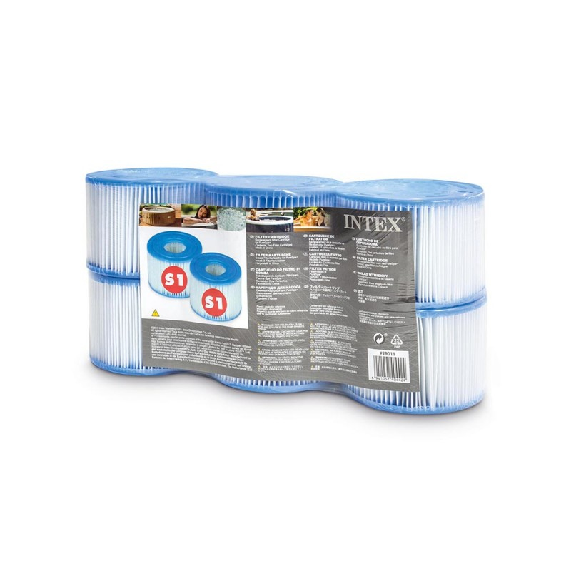 Intex Pool Intex 29011 - Filterkartusche für Pumpe - Intex - Weiß - PureSpa - 2,5 kg