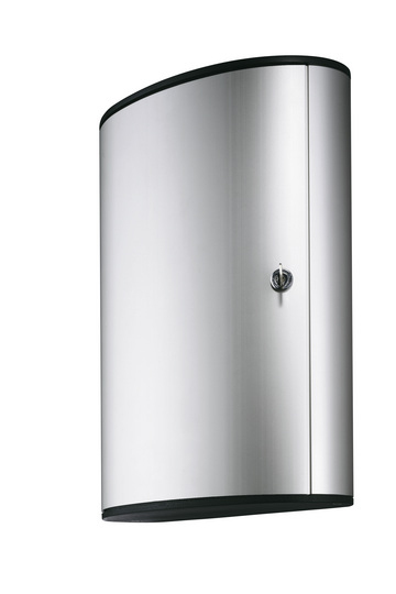 Durable Key Box 72 - Aluminium - Silber - 302 x 118 x 400 mm