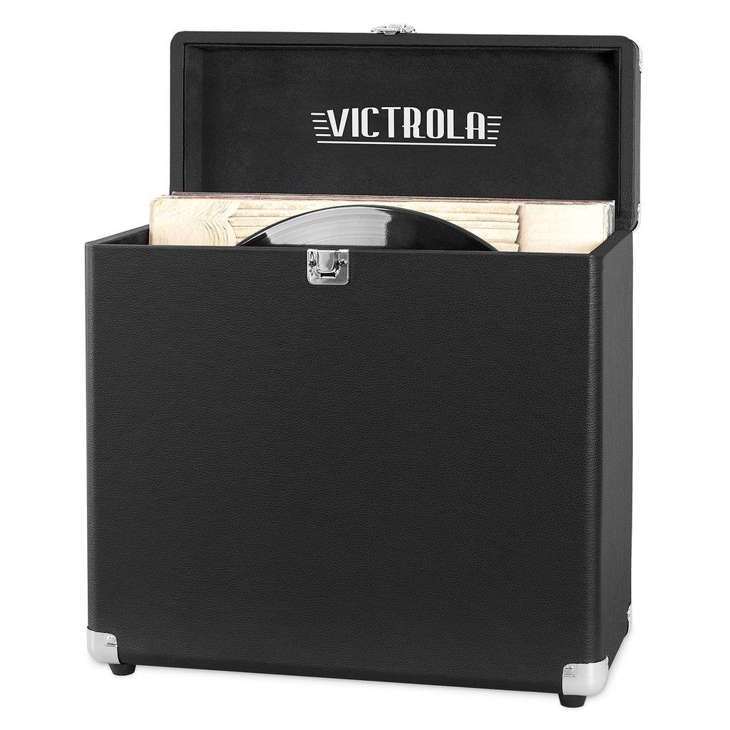 Victrola VSC-20 - Aufbewahrungsbox - Schwarz - Rechteckig - Einfarbig - Indoor - 330,2 mm