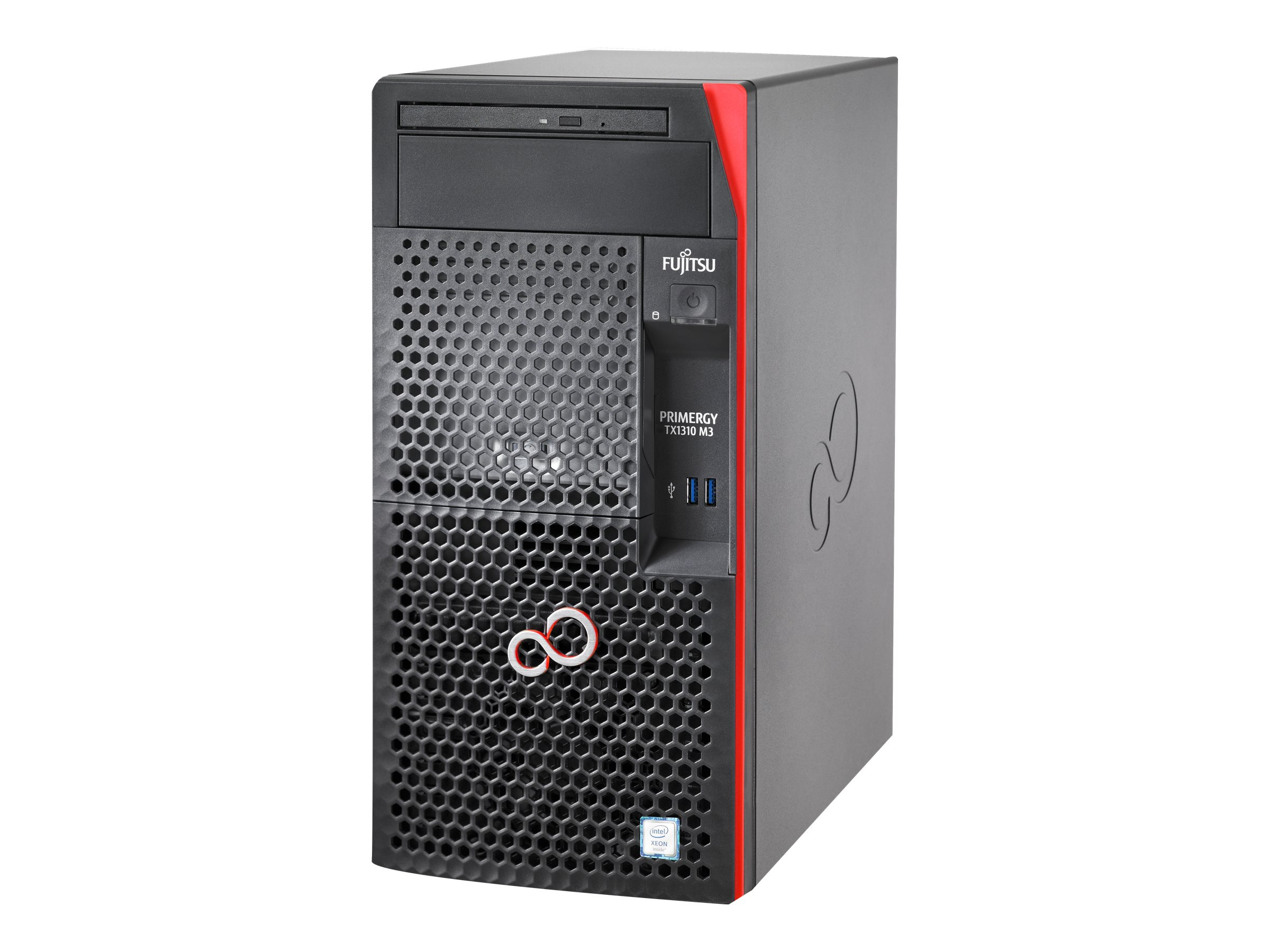 "Fujitsu PRIMERGY TX1310 M3 - Server - Tower - 1-Weg - 1 x Xeon E3-1245V6 / 3.7 GHz - RAM 16 GB - SATA - nicht Hot-Swap-fähig 8.9 cm (3.5"")"