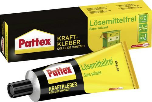 Pattex - Kraftkleber - Lösemittelfrei - transparent - Tube - 65g