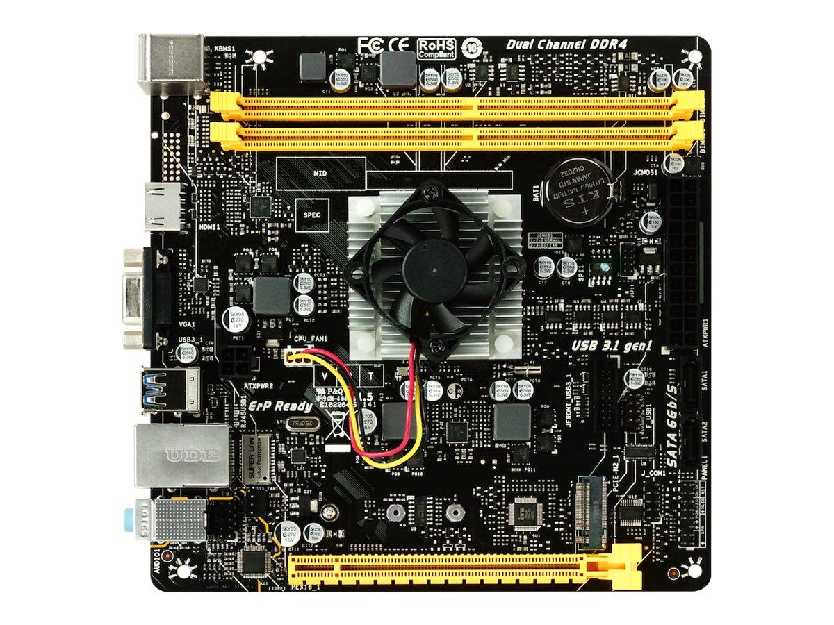 Biostar A10N-8800E - Motherboard - Mini-ITX - AMD FX 8800P - USB 3.1 Gen 1 - Gigabit LAN - Onboard-Grafik - HD Audio (8-Kanal)