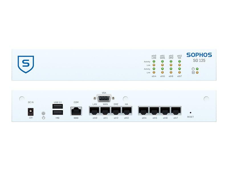 Sophos SG 125 - Sicherheitsgerät - mit 2 Jahre TotalProtect