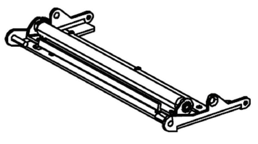 Zebra Kit bracket for peel roller