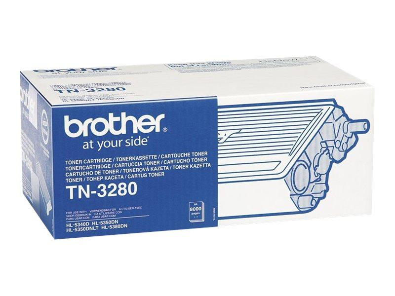 Brother TN-3280 - Schwarz - Original - Tonerpatrone