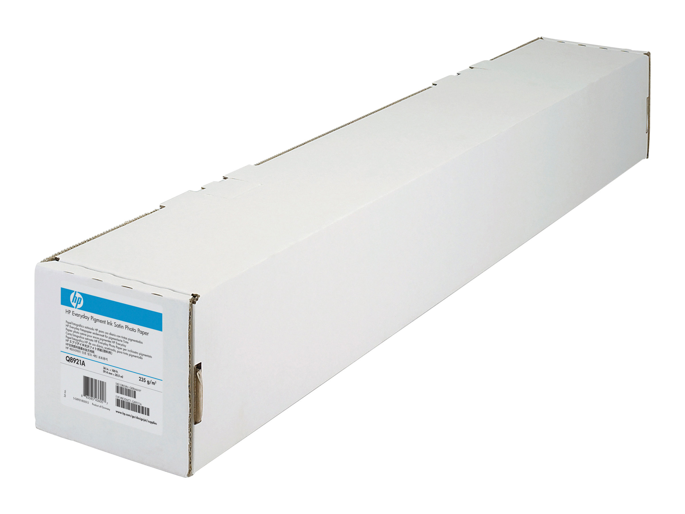 HP Universal - Seidig - Rolle (91,4 cm x 30,5 m) 1 Rolle(n) Fotopapier