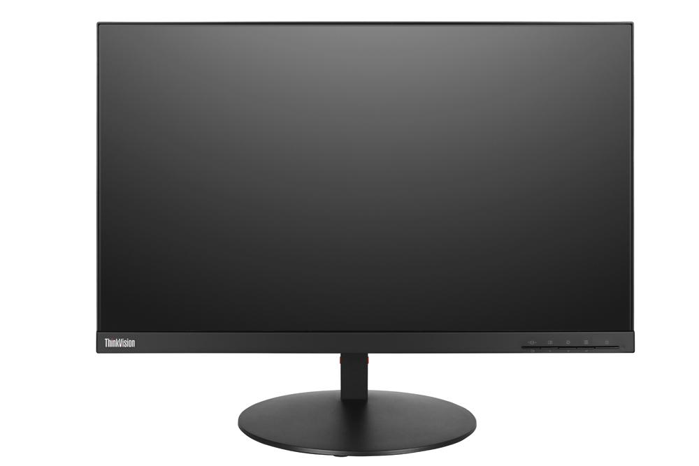 Lenovo ThinkVision T24m 23.8Zoll Full HD IPS Schwarz Flach Computerbildschirm