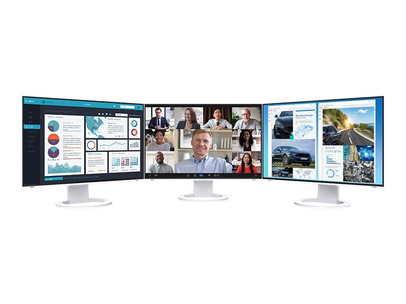 "EIZO FlexScan EV2495-WT - Mit FlexStand - LED-Monitor - 61.1 cm (24.1"")"
