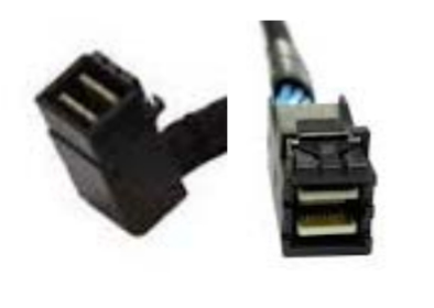 Intel mSAS-HD Cable Kit AXXCBL650HDHRT 0.65m Schwarz