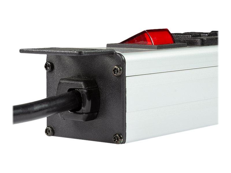 LogiLink Stromverteilungseinheit (Rack - einbaufähig) - 3500 Watt - Eingabe, Eingang CEE 7/7 - Ausgangsanschlüsse: 16 (16 x 4-poliger USB Typ A)