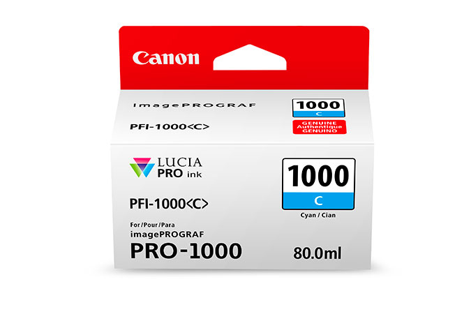Canon PFI-1000 C 80ml Cyan Tintenpatrone