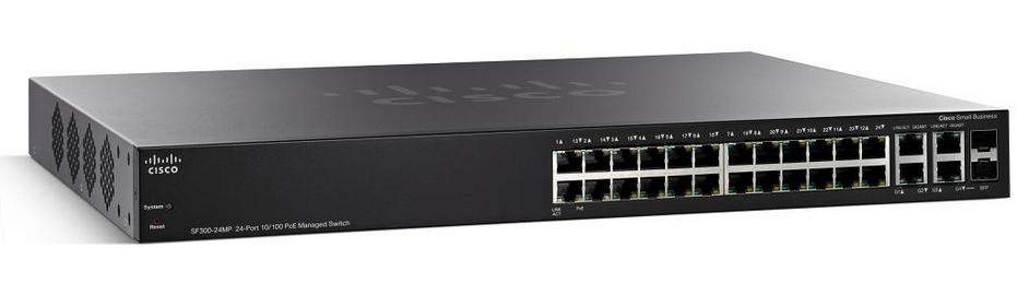Cisco Small Business SF300-24MP (SF300-24MP-K9-EU)