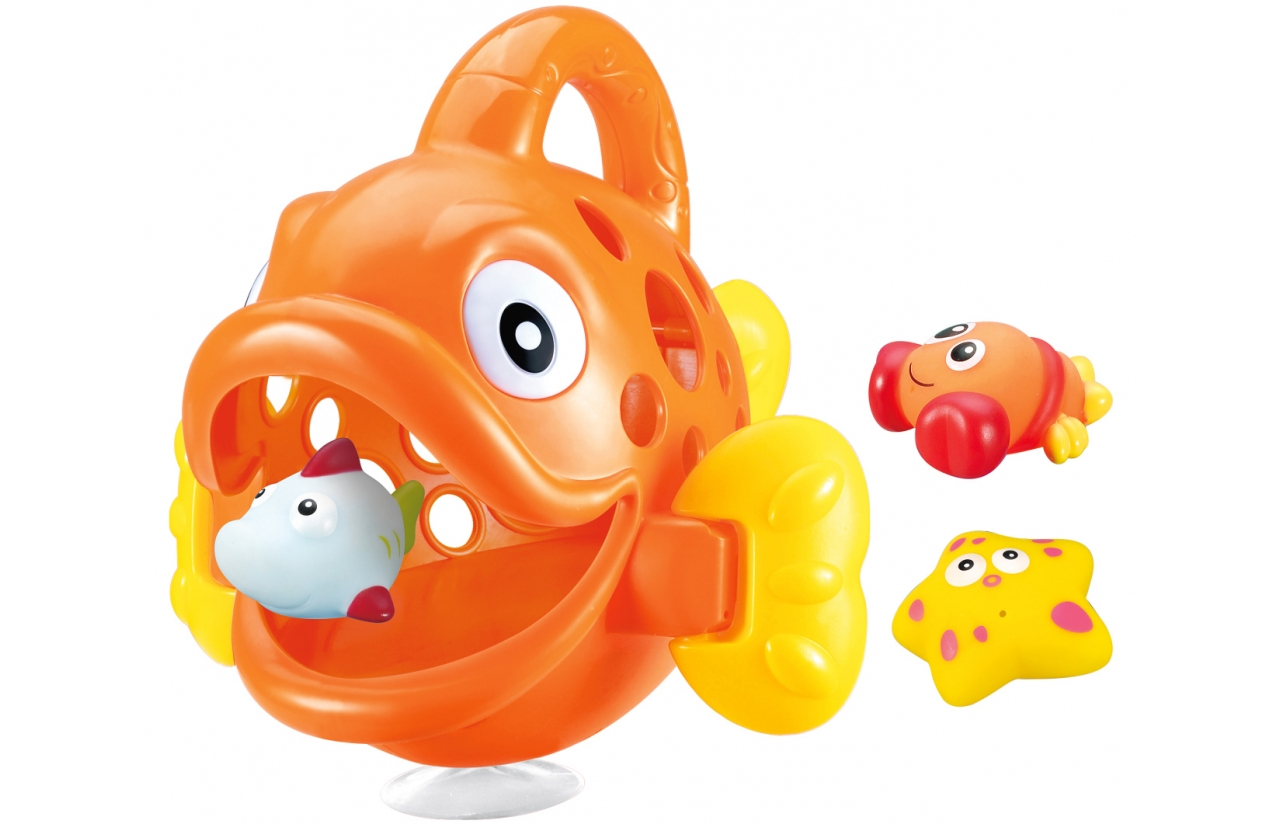 JAMARA Hungry Fish - Badespielzeugfigur - Junge/Mädchen - 1 Jahr(e) - Mehrfarben