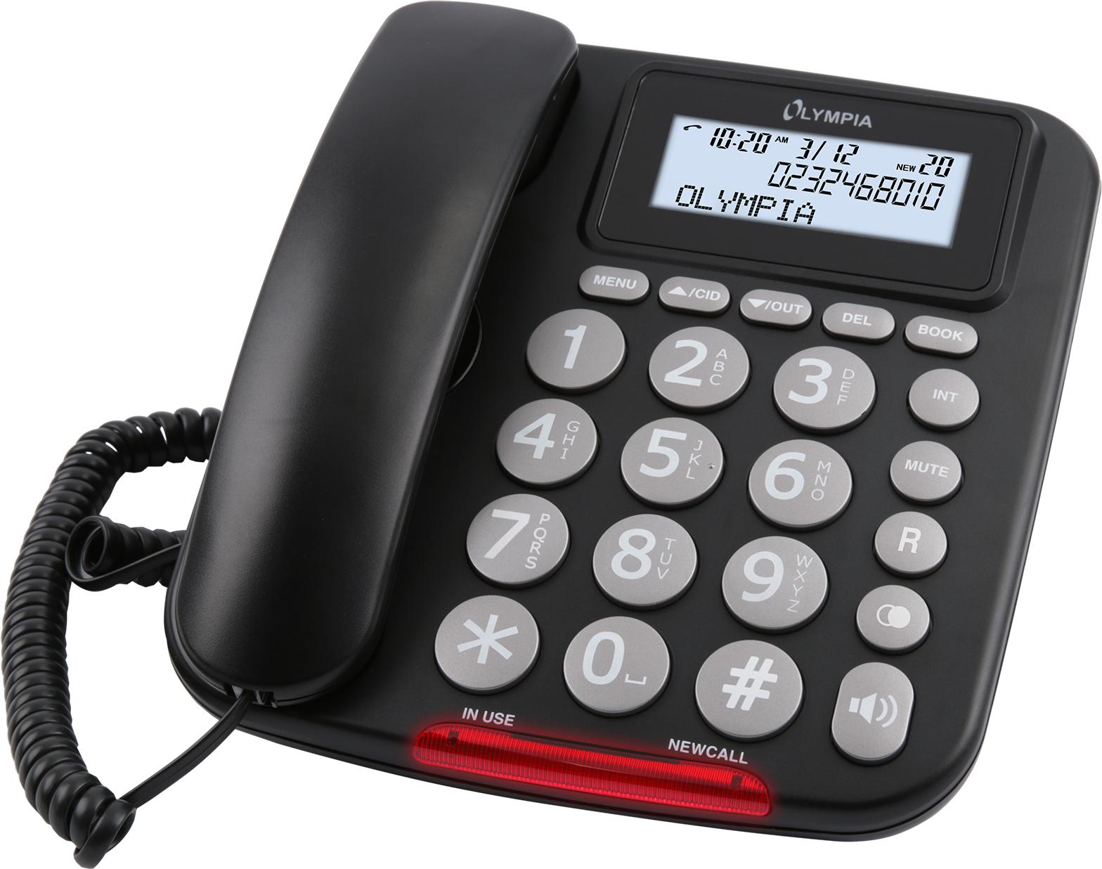 Olympia Telefon 5050 schnurgebunden