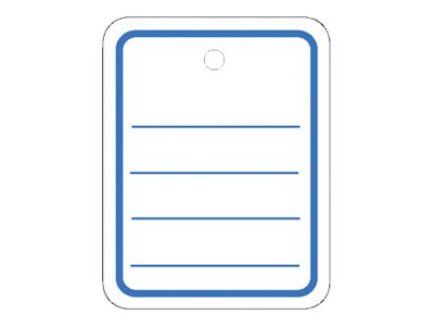HERMA Merchandise tag - Weiß - 35 x 45 mm 1000 Etikett(en) Namensetiketten