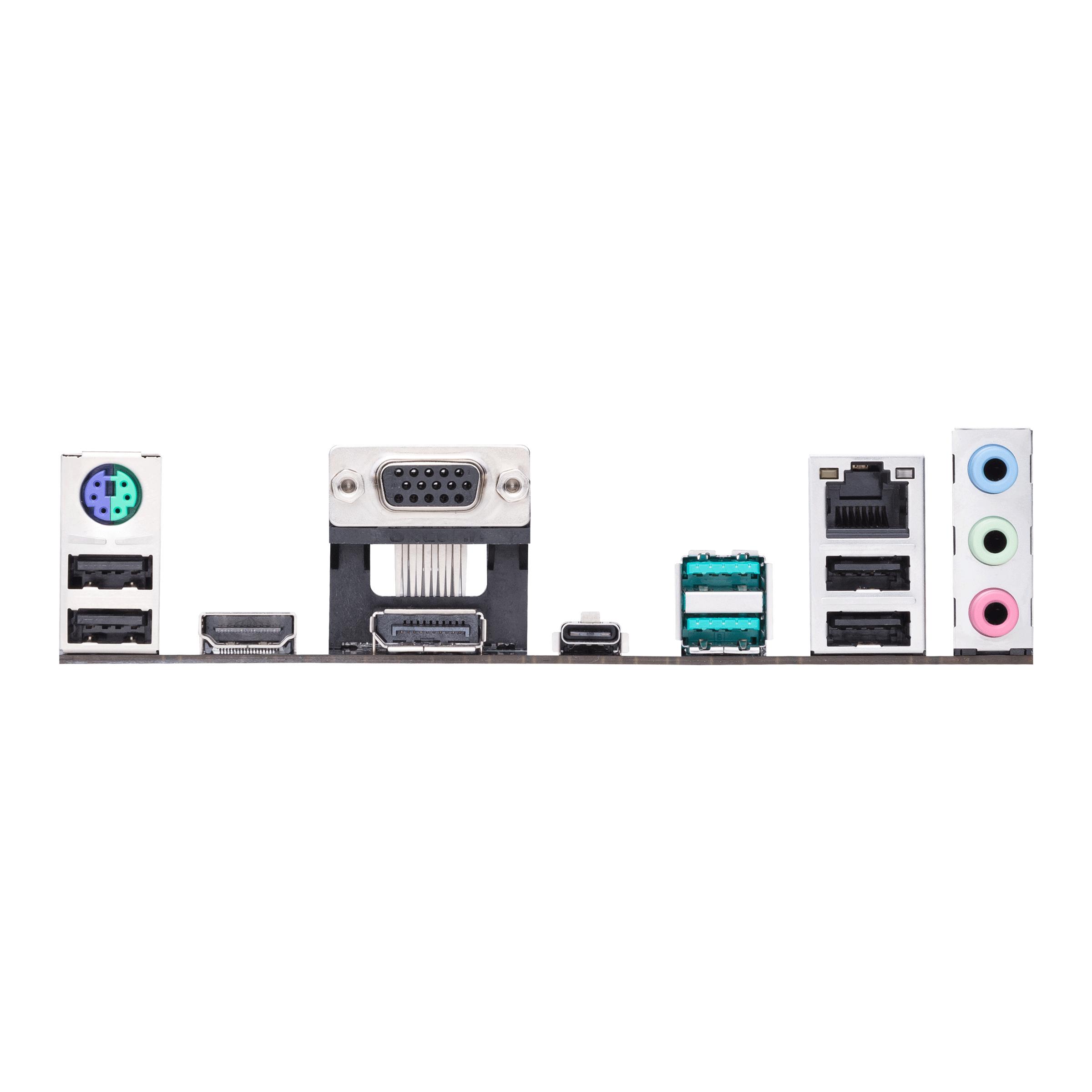 ASUS PRIME B560-PLUS - Motherboard - ATX - LGA1200-Sockel - B560 - USB-C Gen1, USB 3.2 Gen 1, USB 3.2 Gen 2 - Gigabit LAN - Onboard-Grafik (CPU erforderlich)