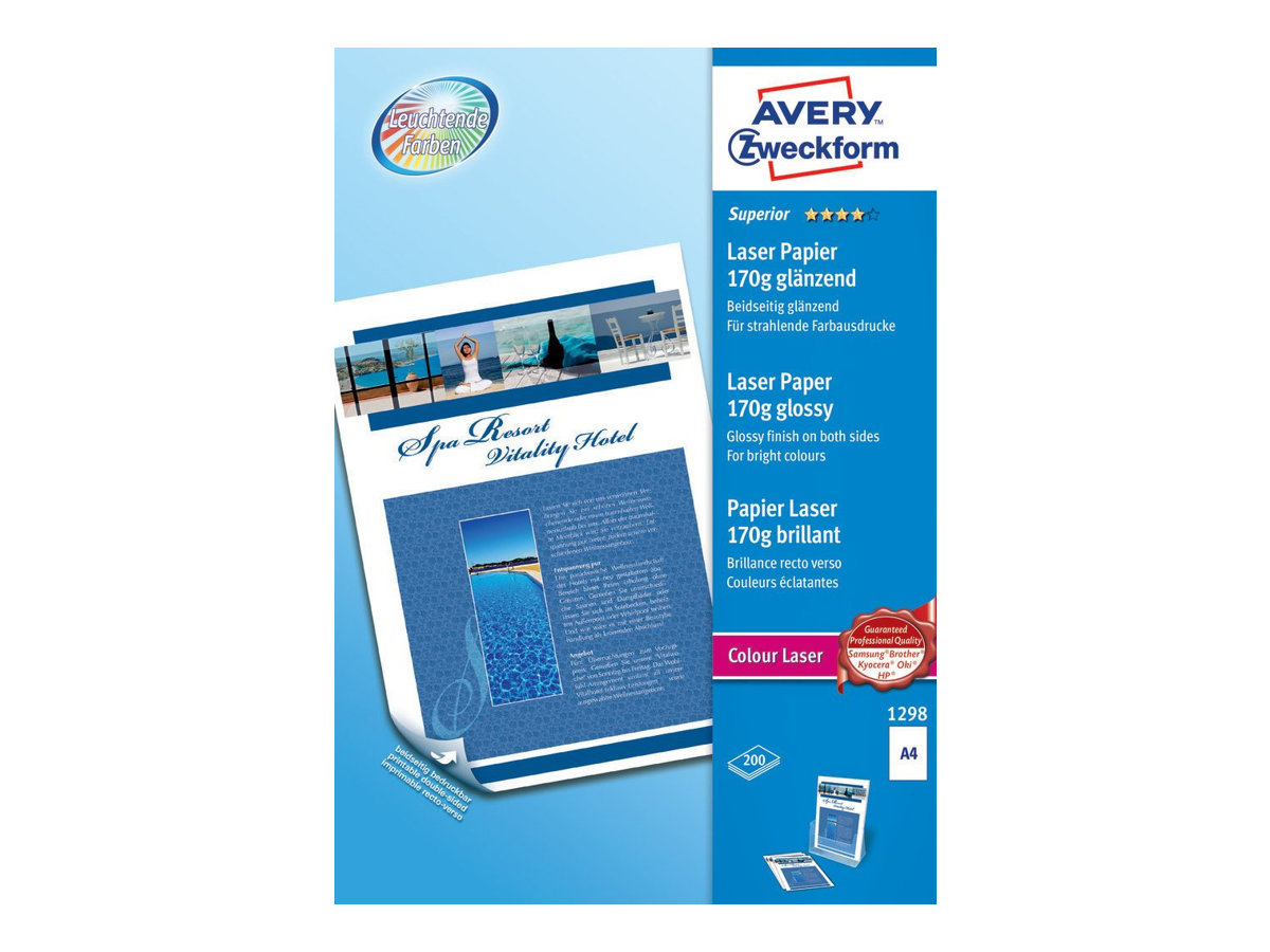 Avery Zweckform Superior Colour Laser Paper 1298