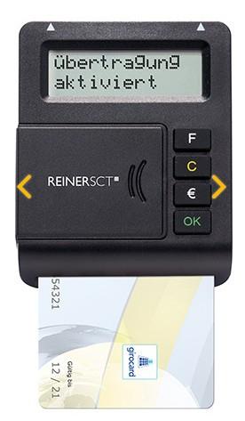 ReinerSCT Reiner SCT tanJack optic CX - Indoor/Outdoor - Schwarz - LCD - CE - WEEE - 66 mm - 84 mm