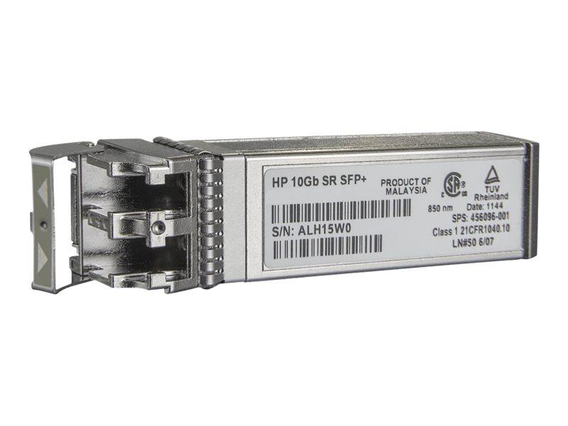 HPE BLc 10G SFP+ SR Transceiver New Spare (456096-001/ 455883-B21)