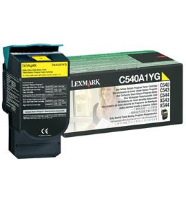 Lexmark C540A1YG 1000Seiten Gelb Lasertoner / Patrone