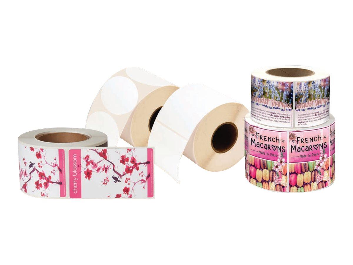 Primera Paper High Gloss - Glänzend - 102 x 102 mm 500 Etikett(en) (1 Rolle(n)