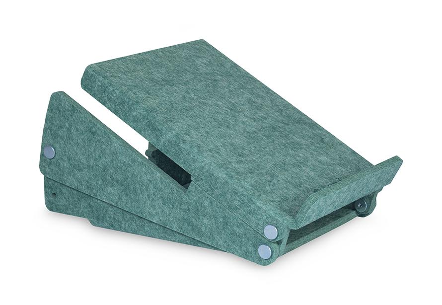 Bakker Ergo-Top 320 Circular - Notebook-Ständer - Grün - 35,6 cm (14 Zoll) - 38,1 cm (15 Zoll) - 140 - 180 mm - 215 mm