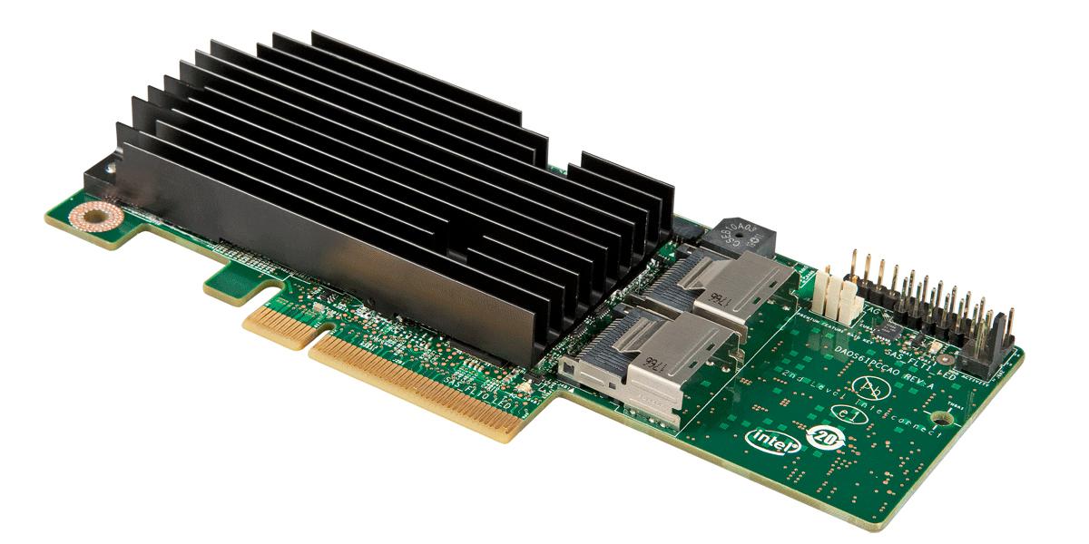 Intel RMS25PB080 PCI Express x8 2.0 6Gbit/s RAID-Controller