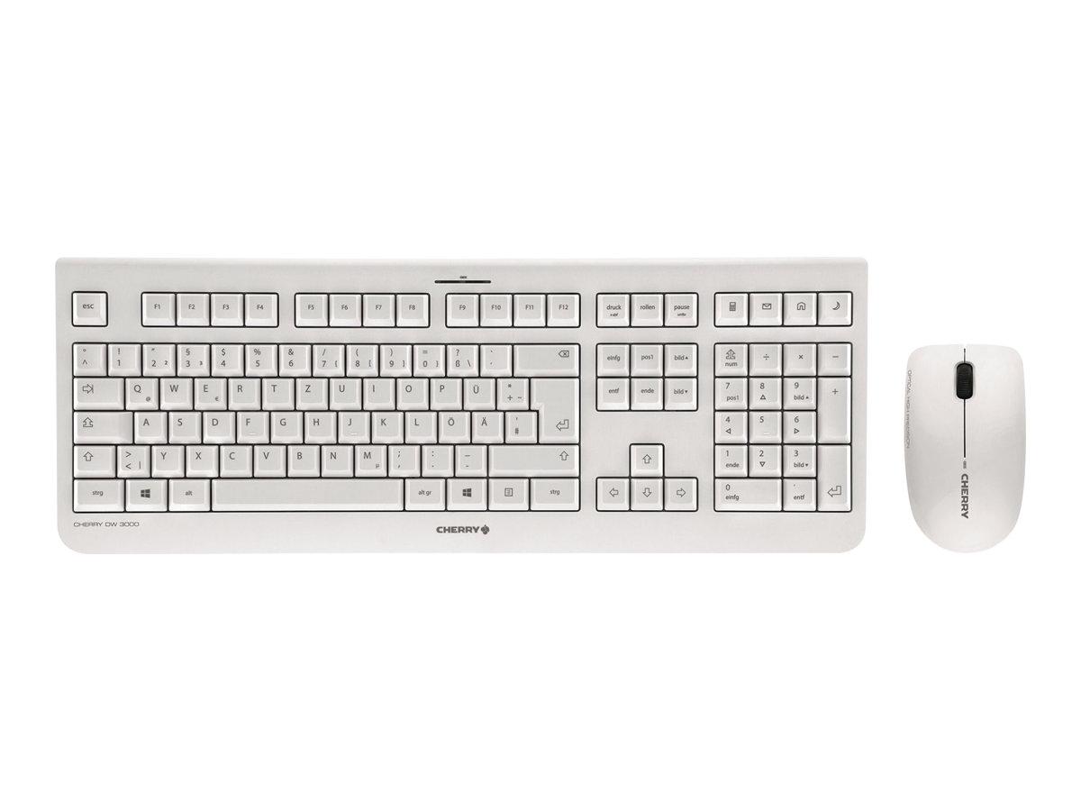 Cherry DW 3000 - Tastatur-und-Maus-Set - kabellos