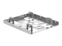 21333 HDD / SSD-Gehäuse 2.5Zoll Silber Speicherlaufwerksgehäuse