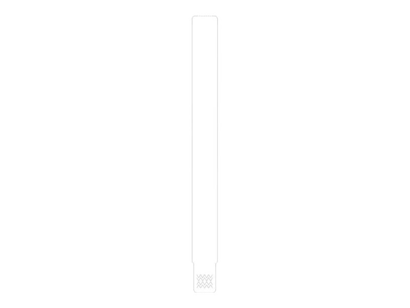 Zebra Z-Band UltraSoft - Polypropylen (PP)