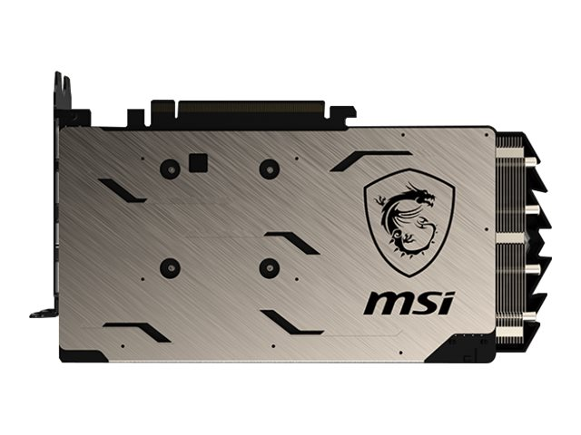 MSI-RTX-2060-GAMING-Z-6G-Graphics-card-GF-RTX-2060-6-GB-GDDR6-PCIe-3-0-V375-008R thumbnail 2