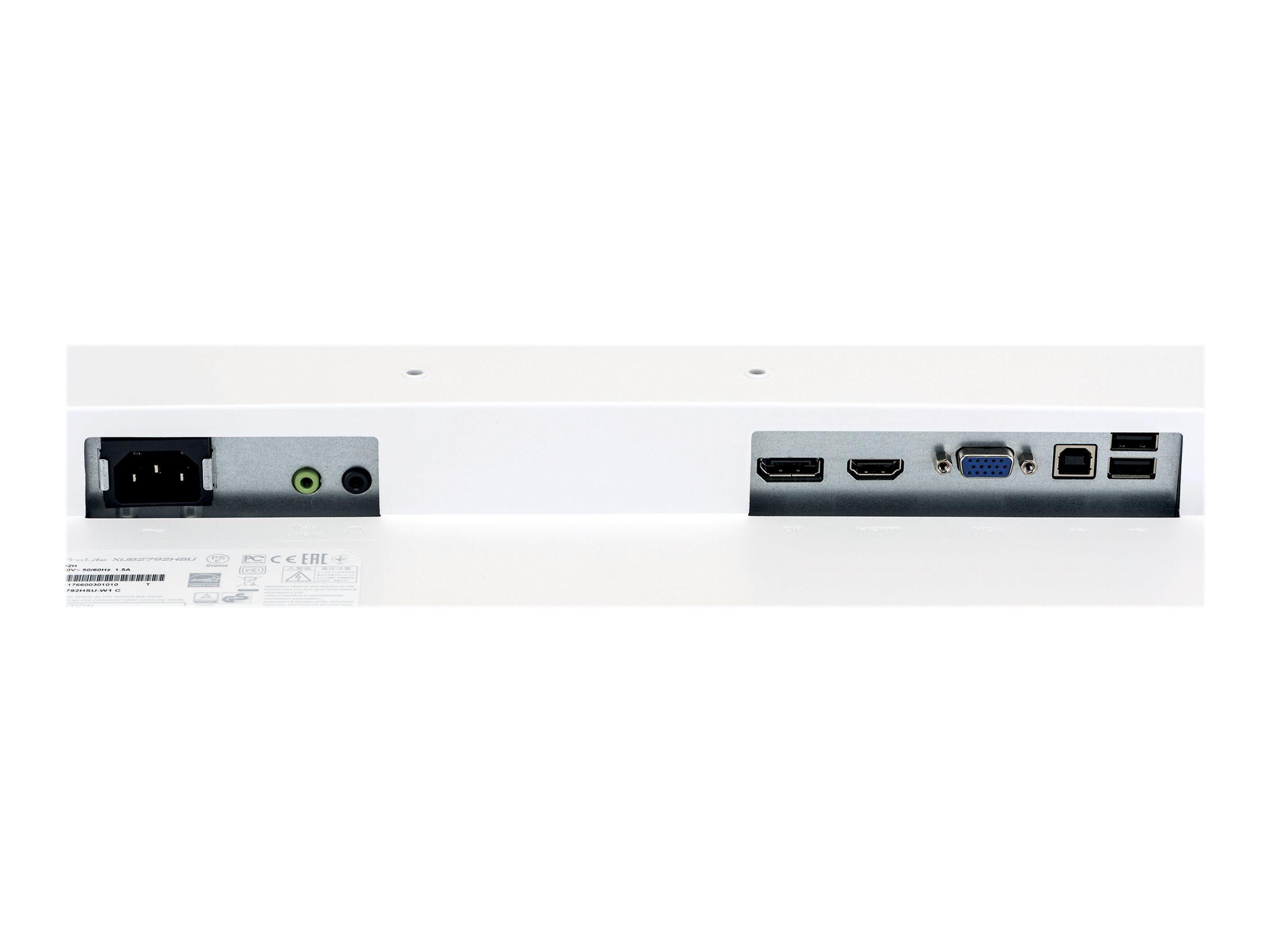 """Iiyama ProLite XUB2792HSU-W1 - LED-Monitor - 68.6 cm (27"""")"""