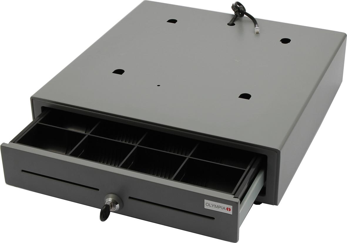 Olympia LD 410 - Abschließbarer Deckel - Metall - 440 mm - 410 mm - 110 mm - 5,9 kg