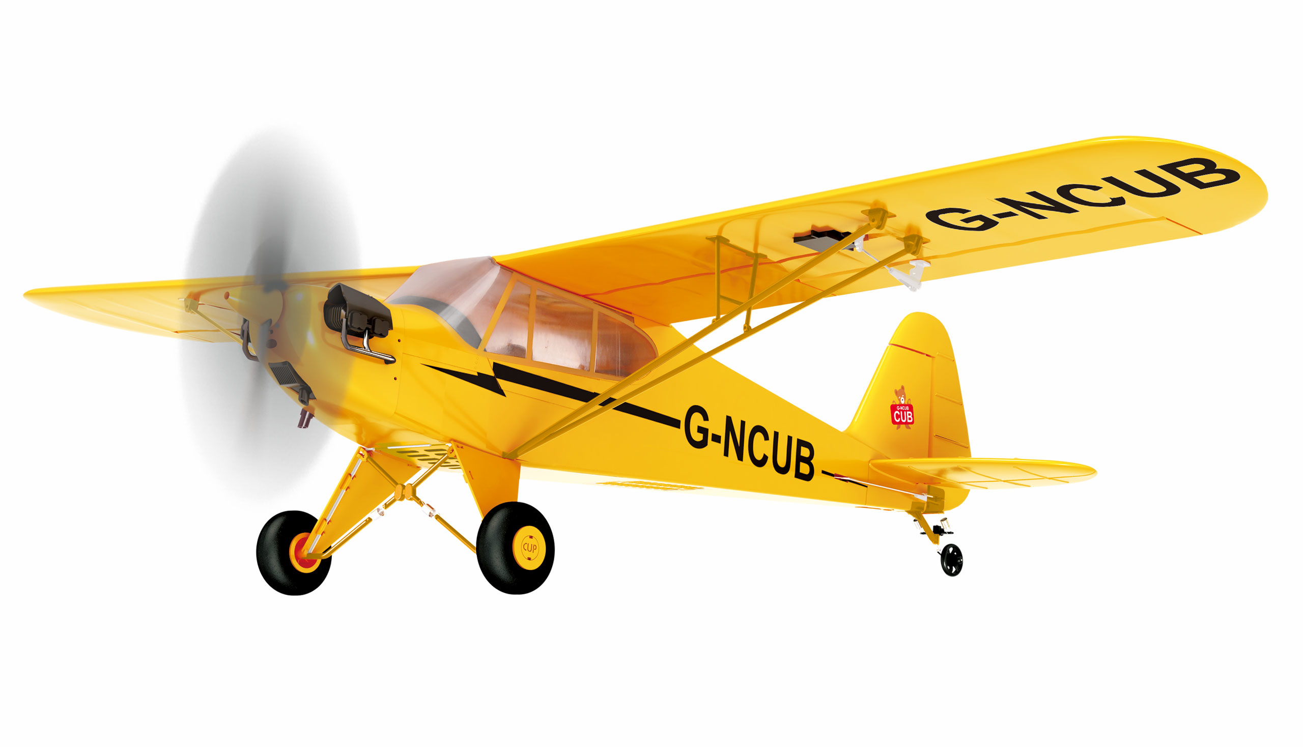 Amewi Skylark - Funkgesteuertes (RC) Flugzeug - Flugbereit (RTF) - Gelb - Elektromotor - Junge/Mädchen - 14 Jahr(e)