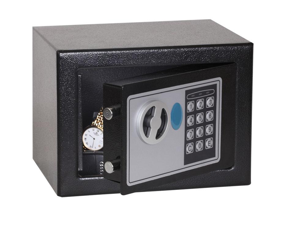 Phoenix Safe Phoenix Compact SS0721E - Schwarz - Elektronisch - 4 l - Stahl - 230 mm - 170 mm