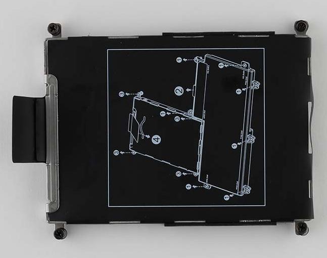 HP 840682-001 HDD-Schale Notebook-Ersatzteil