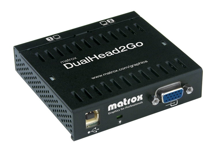 Matrox DualHead2Go Analog Edition VGA