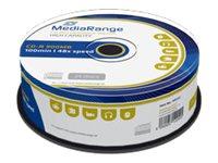 MEDIARANGE 25 x CD-R - 900 MB (100 Min.) 48x